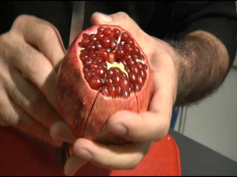 Pomegranate Pomegranate: best opening technique