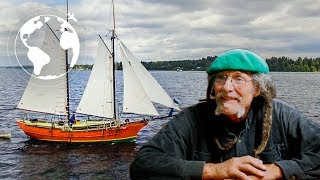 The Pterodactyl Schooner: Artist Builds Small Pirate Ship