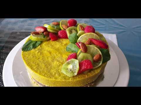 cake-chia-pudding,-recette-gâteau-vegan-healthy-aux-graines-de-chia-super-simple-et-rapide-à-réalisé