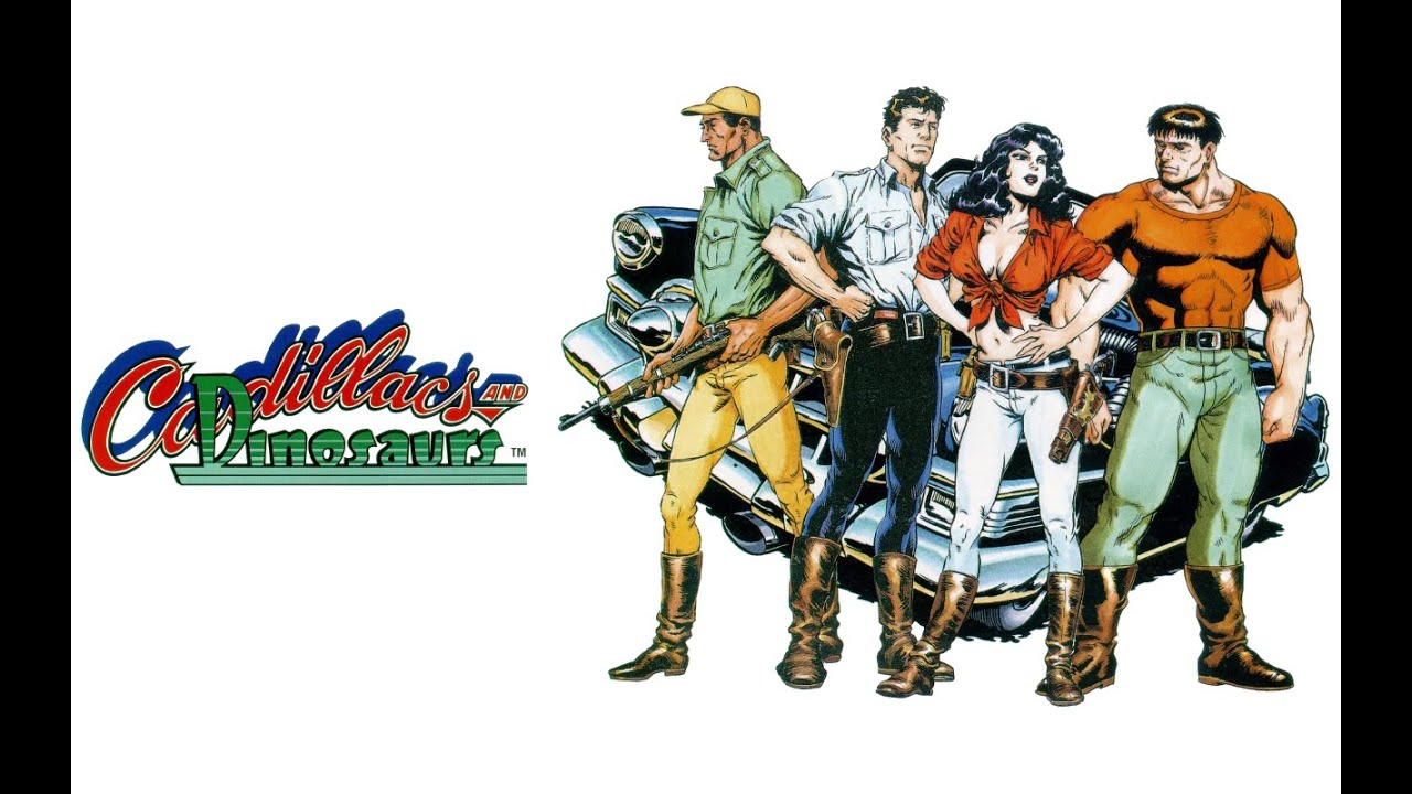 Top 30 Mame Games - Cadillacs and Dinosaurs - YouTube