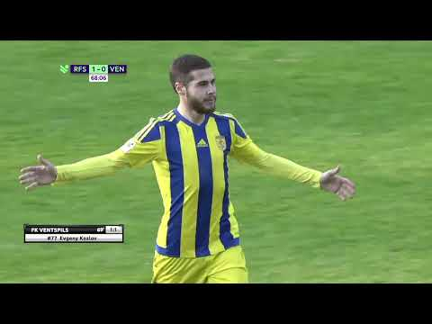 RFS Ventspils Goals And Highlights