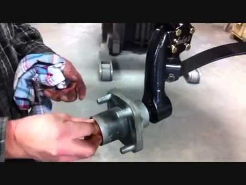 how to change springs in a golf carts front fork