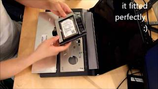 Simple how-to Asus N53 adding 2nd HDD using DVD Drive Bay