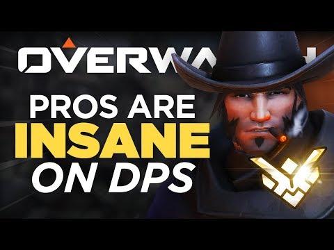 When Overwatch Pros Enter GOD MODE