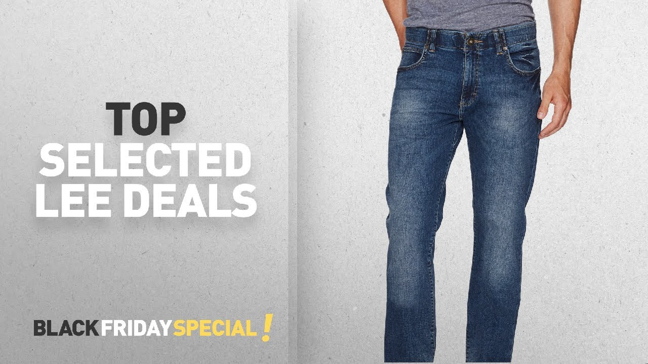 dd5706e2 Top Black Friday LEE: Lee Men's Modern Series Extreme Motion Straight Fit  Tapered Leg Jean ...