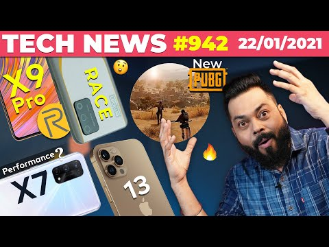 realme RACE Pro & X9 Full Specs,New PUBG Map, realme X7 Pro Performance, iPhone 13,COD Mobile-TTN942