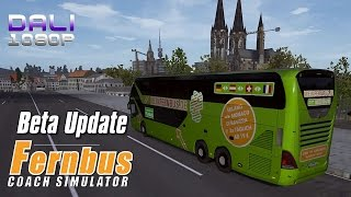 Fernbus Coach Simulator Beta Update PC Gameplay 1080p 60fps