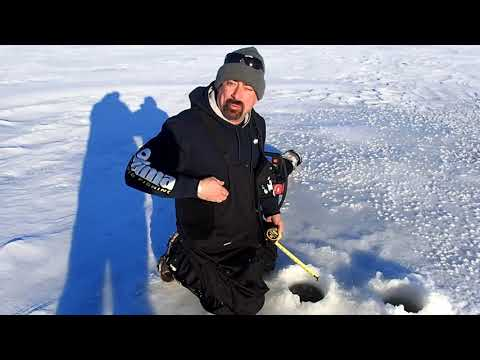 Lake Delavan WI current ice conditions. 01-25-2019