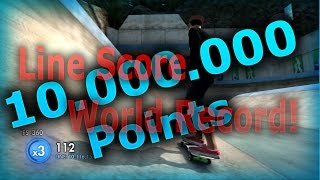 Skate 3: Highest Line Score - World Record [10.000.000 Points]