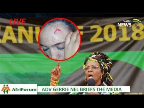 AfriForum briefs the media on Grace Mugabe's assault case