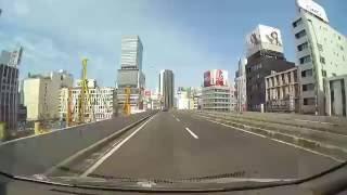 車載動画( Drive) / 首都高3号渋谷線 大橋JCT→渋谷→谷町JCT(東京)(Tokyo/ Japan)