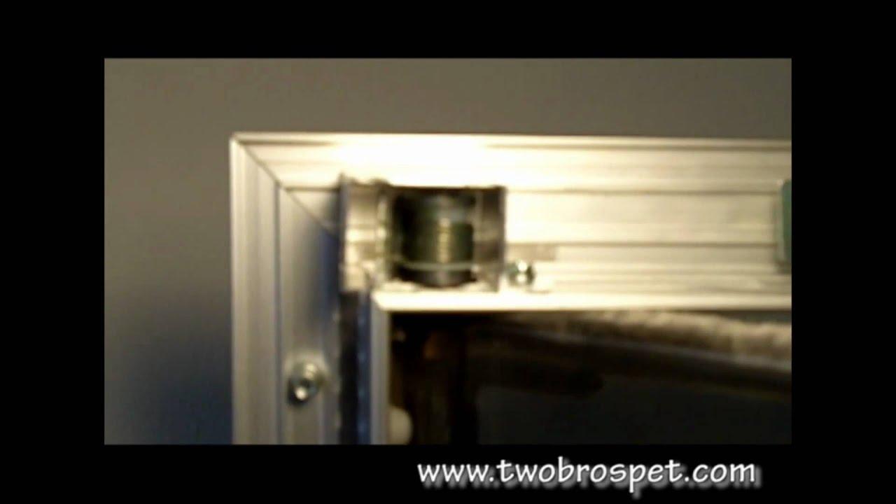 Plexidor Pet Door For Doors Walls Youtube