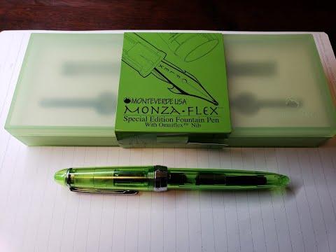 Monteverde Monza Omniflex nib test