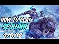 HOW TO PLAY SEJUANI | Build & Runes | Diamond Commentary | League of Legends | Season 9