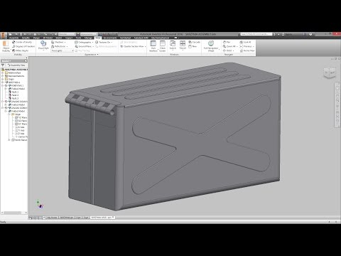 INVENTOR 2016 - SHEET METAL DESIGN