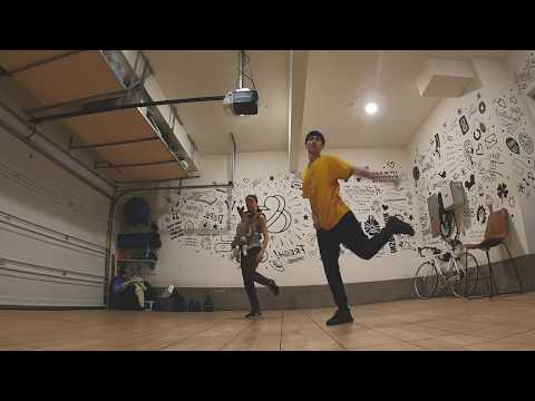 """HAPPY"" dance tutorial / Keone & Mari"