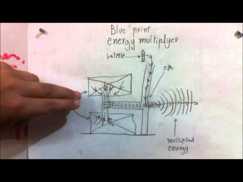 Energy Update #12 - Energy Multiplier - A Self Powered Zero Point Energy Device