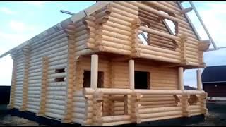 Строительство дома   компания Русский Терем