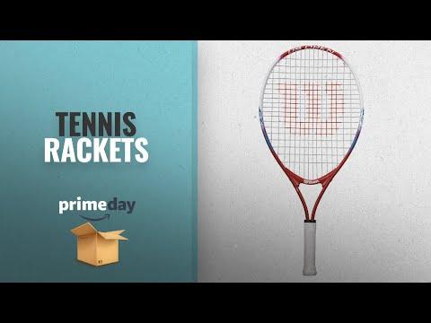 Save Big On Tennis Rackets Prime Day Deals 2018: Wilson Junior US Open Tennis Racquet, 23