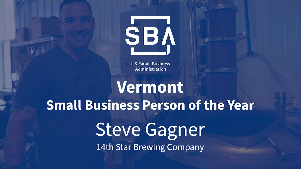 Vermont Small Business Person of the Year 2019