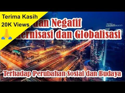 【Video Pengetahuan】 Dampak Positif dan Negatif Dari Modernisasi dan Globalisasi | Simple News Video
