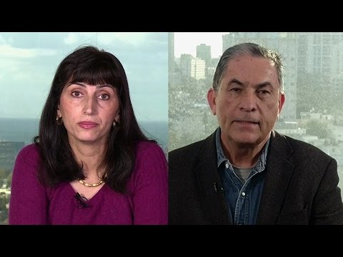Diana Buttu & Gideon Levy on Israeli Settlements, Kerry, Military Aid & End of Two-State Solution