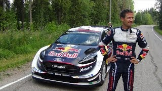 WRC Rally Finland 2018 Shakedown (more unseen video before the stage)
