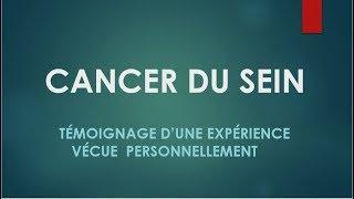 METASTASES !!! CANCER DU SEIN