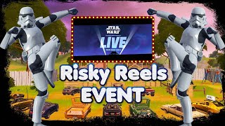 FORTNITE - RISKY REELS STAR WARS EVENT ( STAGE 3 OUT NOW ) DIG SITE LIVE IN GAME