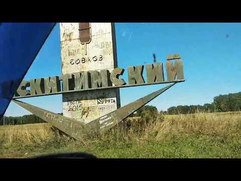 Новосибирская область  Искитим  Тальменка  Дорога Природа