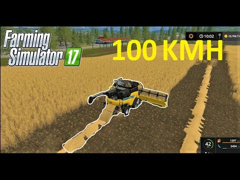 Farming Simulator 17 | VERY FAST HARVESTING w/ New Holland CR10.90