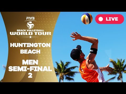 Huntington Beach - 2018 FIVB Beach Volleyball World Tour - Men Semi Final 2