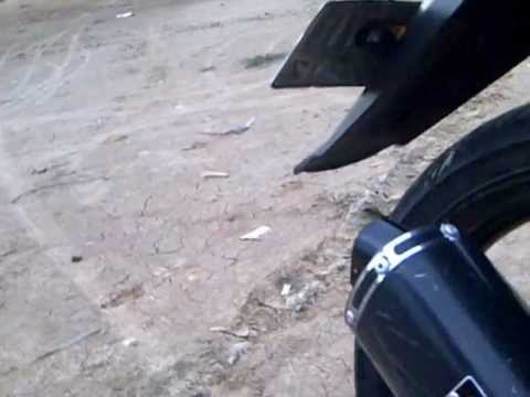 Yamaha Jupiter MX backfire