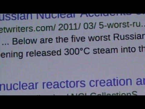 NUKE NEWS ALERT: ST PETERSBURG RUSSIA NUKE PLANT RADIOACTIVE RELEASE