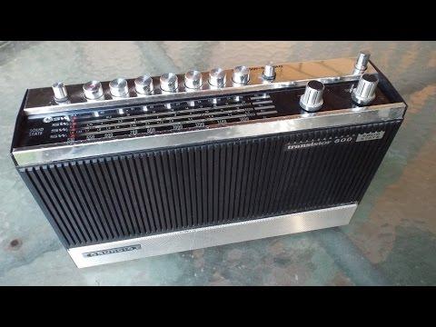 Radio Thailand (World Service) - Grundig Transistor 600a