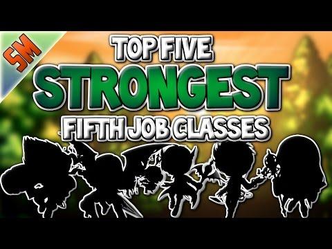 Top 5 Strongest 5th Job Classes!! [MapleStory]