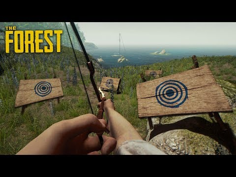 MODERN BOW!! (The Forest)