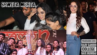 SHWETA MEHTA | MTV ROADIES RISING WINNER in RAJIV GANDHI COLLEGE