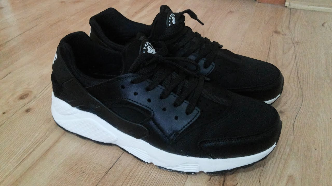 Air Huarache Run Ultra Black Anthracite - YouTube