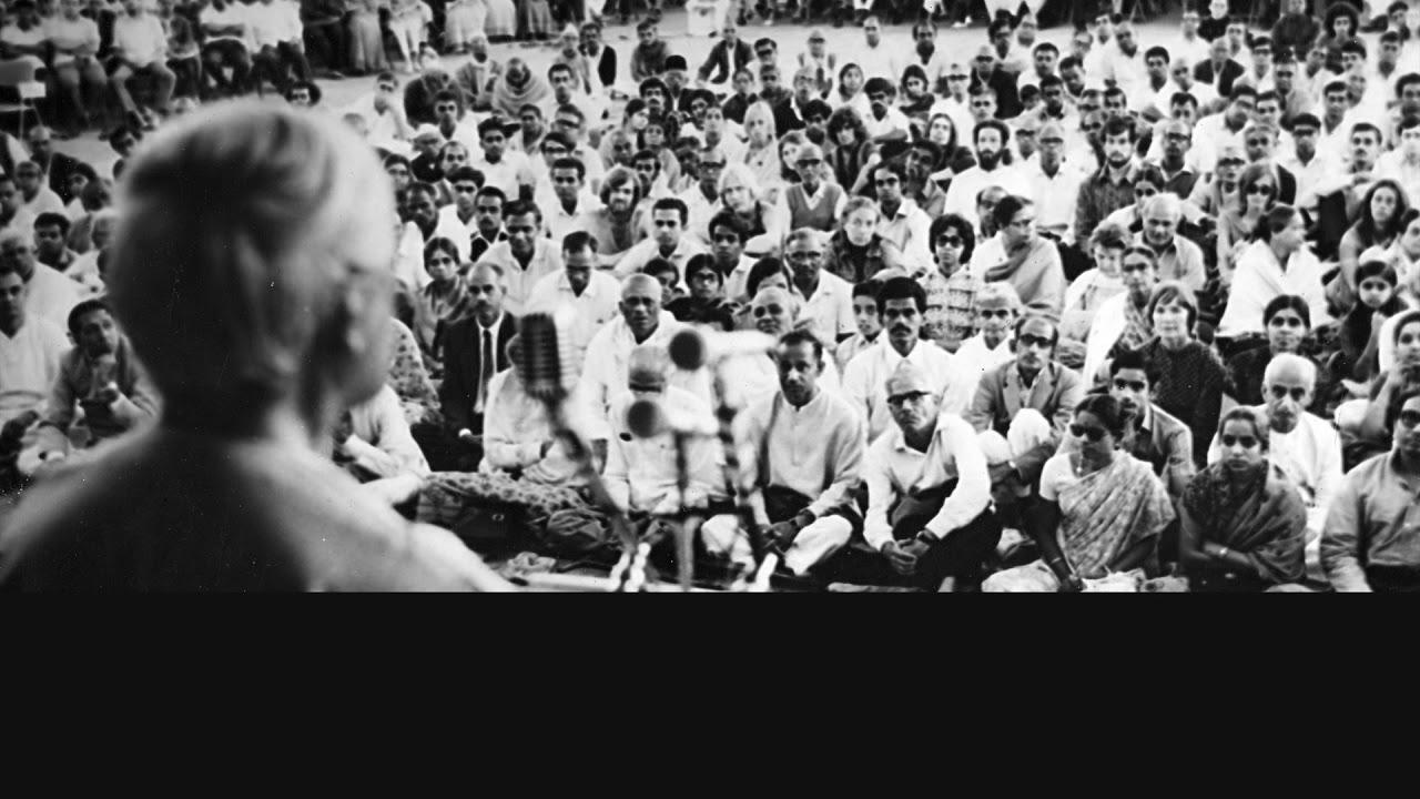 J. Krishnamurti - Rajghat 1976 - Public Talk 1 - Can the image-making machinery stop?