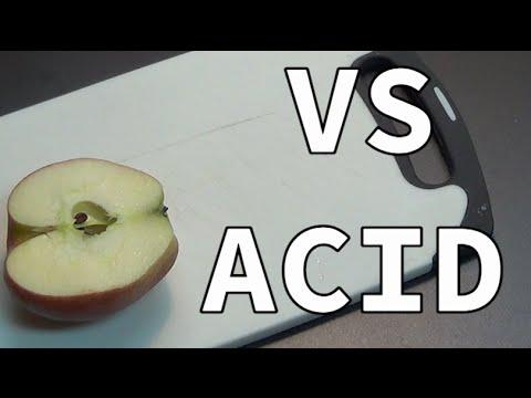 Apple vs Acid | Apple vs HCL