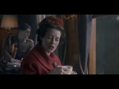 The Crown 2x05 - Philip makes fun of Elizabeth's hair