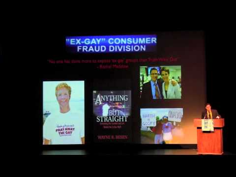 Truth Wins Out's Wayne Besen Speaks at the LA Gay & Lesbian Center