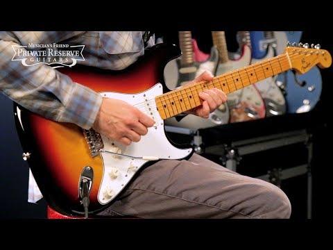Fender Custom Shop Vintage Custom Maple Fingerboard '62 Stratocaster Electric Guitar