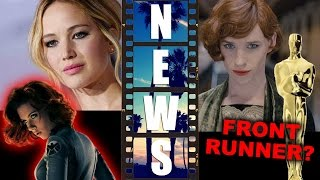 Jennifer Lawrence Red Sparrow vs Black Widow Movie?! The Danish Girl Oscars - Beyond The Trailer