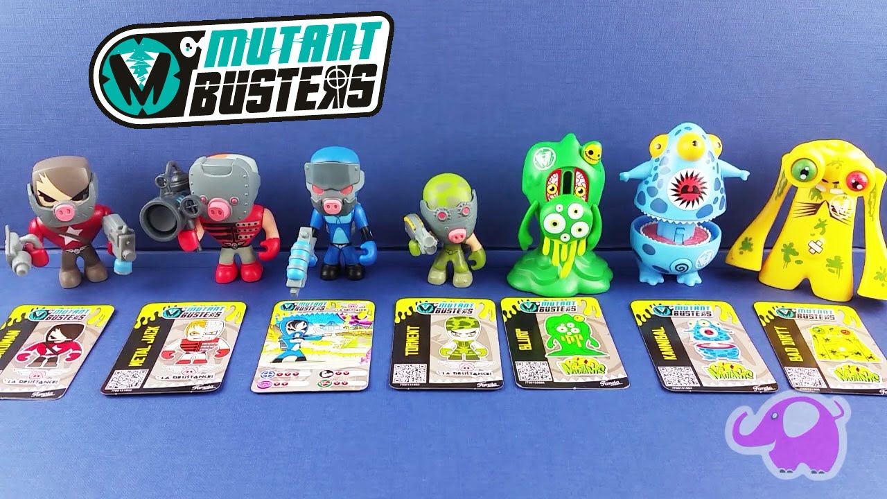 Mutant Busters    Personajes    Characters