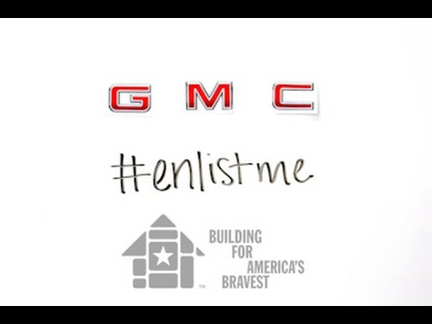 GMC #enlistme, Building for America's Bravest, and McGrath Auto Partnership