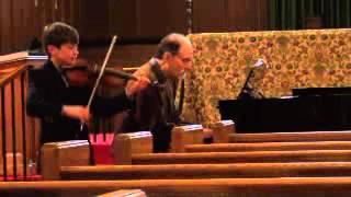 Corelli Sonata No. 8- Age 10 Liam Westman