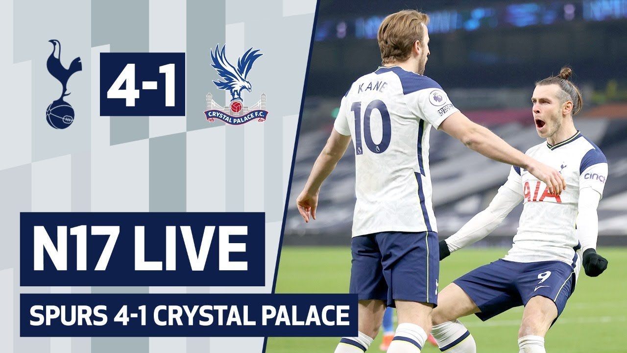 N17 LIVE | SPURS 4-1 CRYSTAL PALACE | Post-match reaction