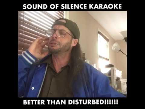 SOUND OF SILENCE KARAOKE!